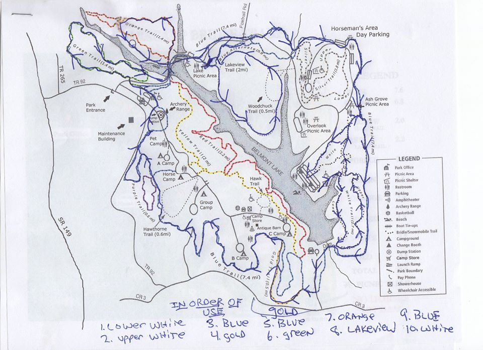 Please See The Info On Aid Stations Drop Bags Etc Under The Half Whole Marathon Section Course Map